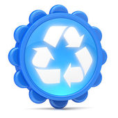 Recycling icon — Stock Photo