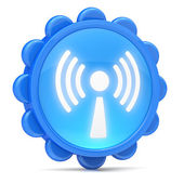 Wi-Fi icon — Stock Photo