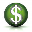 Dollar icon — Stock Photo #11395257
