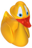 Canard jouet jaune — Photo