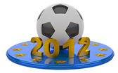 Futbol euro 2012. soyut kavram. — Stok fotoğraf