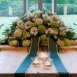 Stock Photo: Coffin in crematory