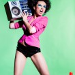 Dancing girl — Stock Photo