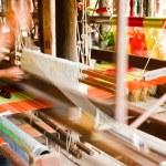 Частью ткацкий станок Белый поток домашние — Стоковое фото