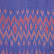 Hand made fabric pattern — Stock Photo