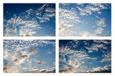 Patterns in the sky. — Stock Photo