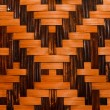 Stock Photo: Texture of bamboo weave,used for background