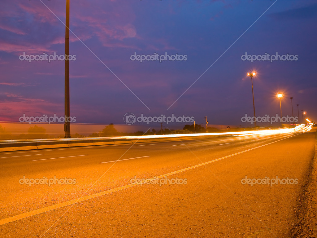 Light on the road — Stock Photo #11853776
