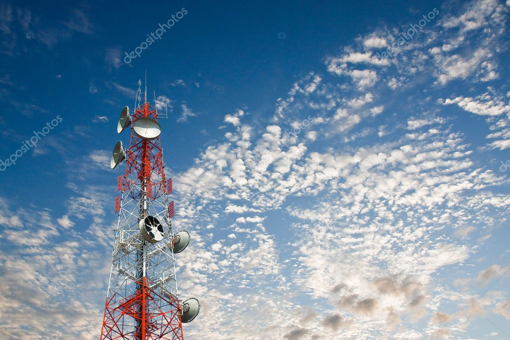 Satellite dish  — Stock Photo #11896881