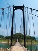 绳桥 — 图库照片