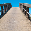 Stock Photo: Small concrete bridge