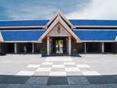 здание склада (палийского канона) мраморные трипитака — Стоковое фото