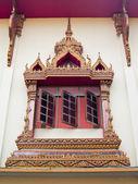 Nang Sao temple window — Stock Photo