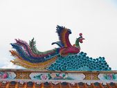 Estatua de ave mitológica — Foto de Stock