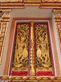 Nang sao tempel venster — Stockfoto