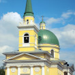 Christian cathedral in Omsk — Stock Photo