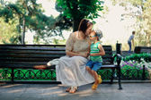 Mother with the child — Stock Photo
