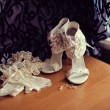Royalty-Free Stock Photo: Wedding shoes