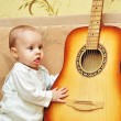 Small musician — Stock Photo #12000048
