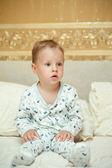 The child woke up — Stock Photo