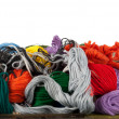 Stock Photo: Embroidery floss