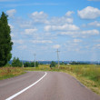 Summer landscape with road — Stok Fotoğraf #10894285