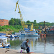 The river port — Stock Photo #10894342