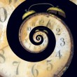 Infinite Old Rusty Clock — Stock Photo #11262940