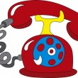 Telephone icon — Stock Vector #11491987