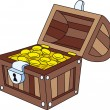 Treasure chest — Stockvektor #11492210