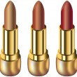 Lipsticks — Stock Vector