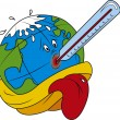 Global Warming — Vector de stock