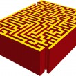 Royalty-Free Stock Vector Image: 3D maze