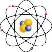 Atomium — Stock Vector