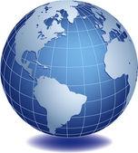 глобус — Cтоковый вектор