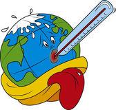 Global Warming — Stock Vector