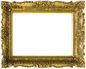 Kes şunu yaldızlı altın çerçeve — Stok fotoğraf
