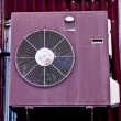 The Antique air conditioner — Stock Photo
