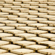 The Abstract tiles on roof — Stock Photo