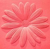 Le grès de la sculpture de fleur — Photo