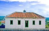 El antiguo edificio del palacio de wung koh en provincia de petchburi, th — Foto de Stock