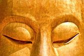 The Meditation of buddha status — Stock Photo