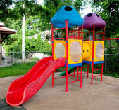The Colorful of playground — Stock Photo