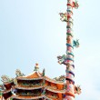 Постер, плакат: The Joss house of naja and dragon pole