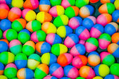 The Colorful easter eggs plastic — Stock Photo