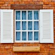 The Wooden window — Stock Photo