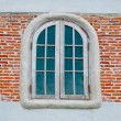 The Old wooden window — Foto Stock