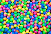 Renkli paskalya yumurta plastik — Stok fotoğraf