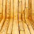 The Abstract of brown wood — Foto de Stock