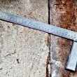 The Steel ruler — Stock Photo #11565507